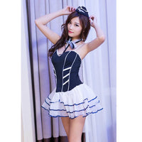 Airline Stewardess Fantasy Costume