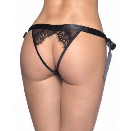 Side Tie Up Lace Panty