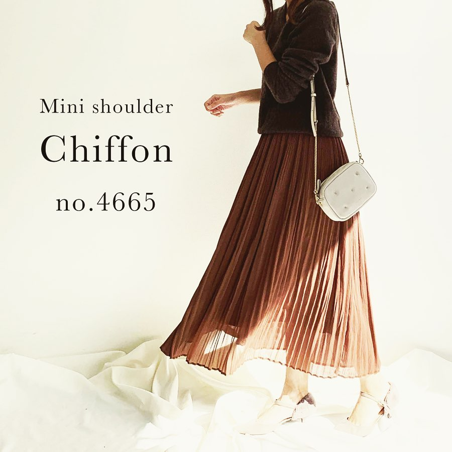 Mini shoulder Chiffon no.4665