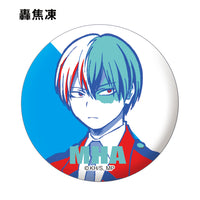 Badges métalliques My Hero Academia collectibles (Color Palette Ver.) - Mankoi Shop