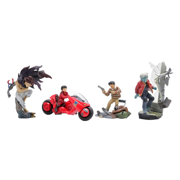 "Photo de 4 figurines du lot ""Kaneda"""
