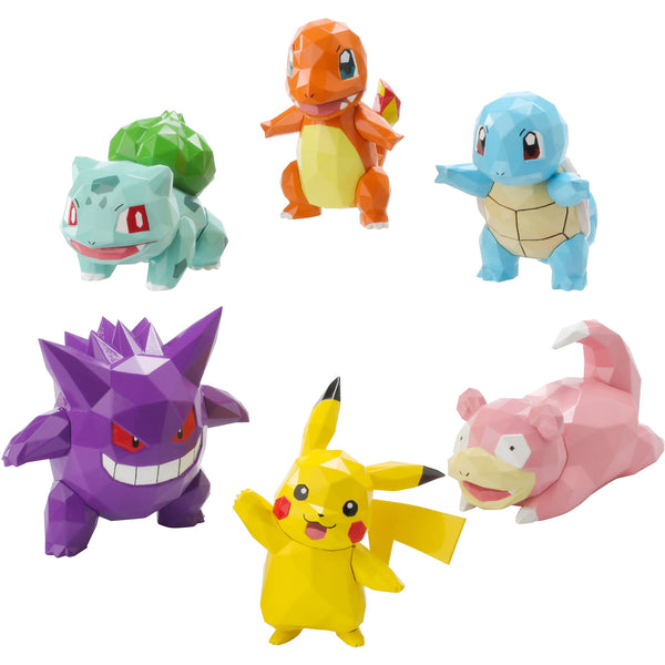 Collection de mini-figurines Pokemon POLYGO 6 pièces - Mankoi Shop