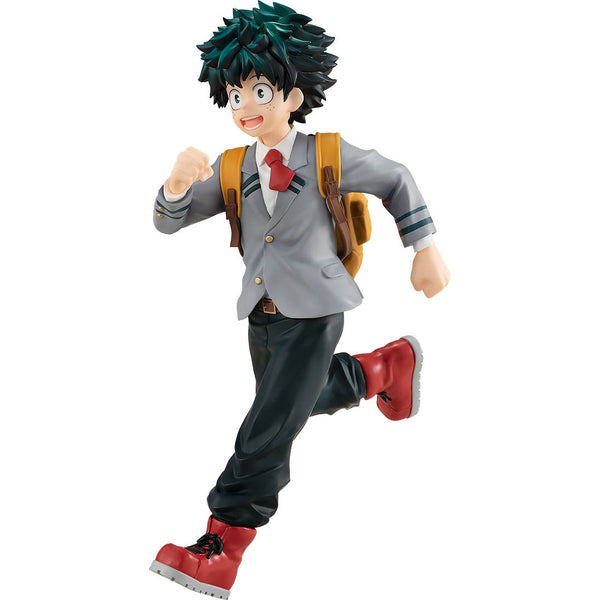 Figurine Pop Up Parade d'Izuki Midoriya sur fond blanc