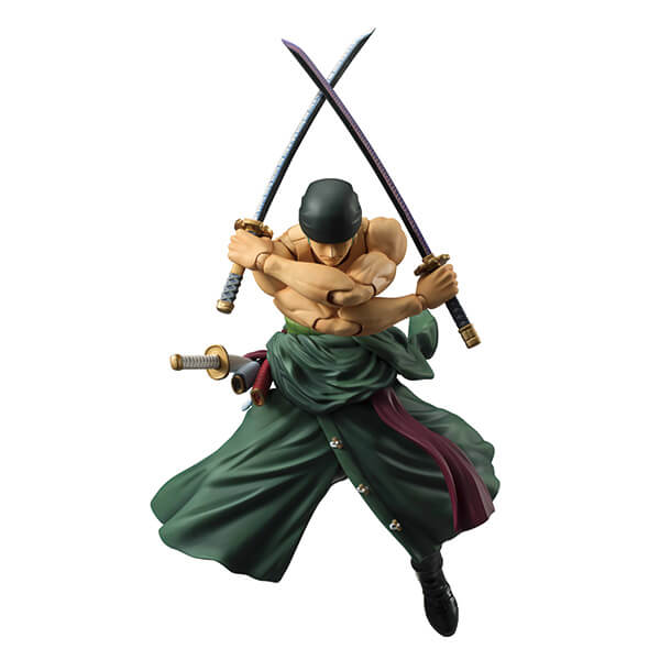 Figurine ONE PIECE - Roronoa Zoro Variable Action Heroes 18 cm (version remasterisée)