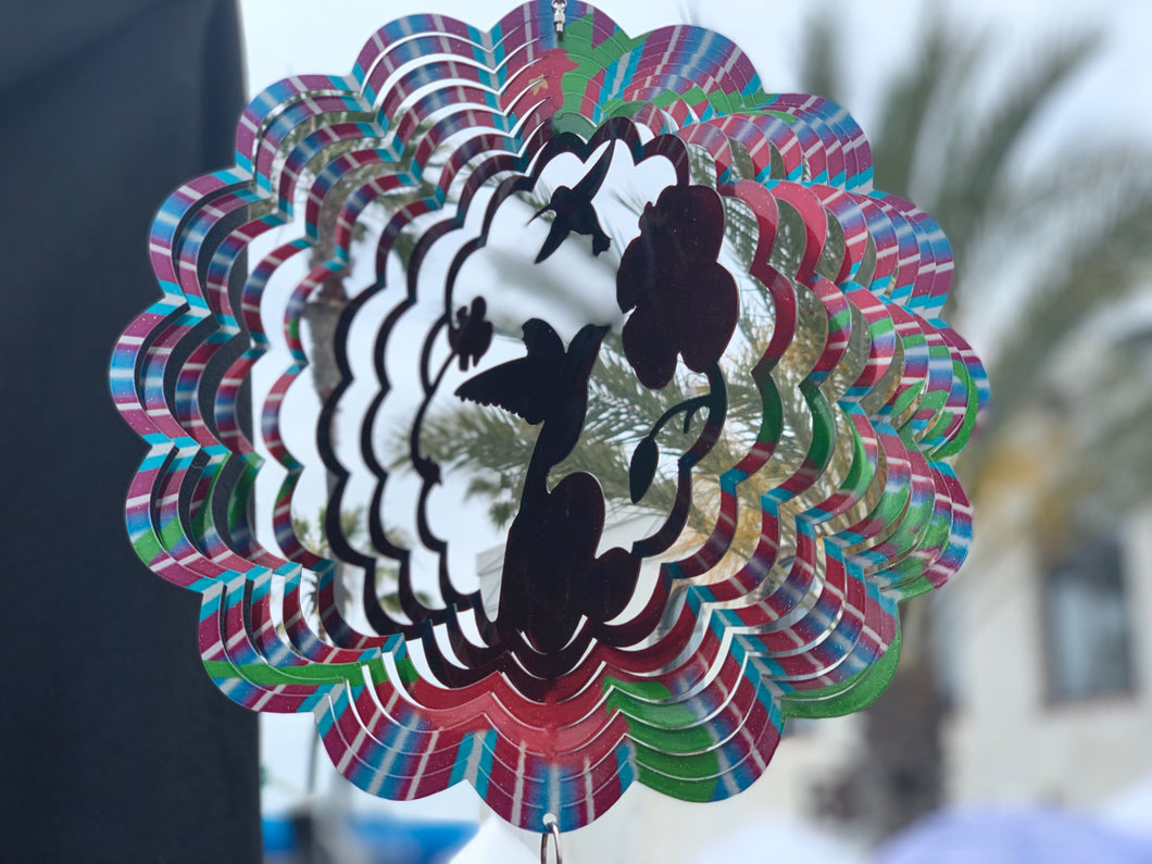 Hummingbird Wind Spinners (Colibre)