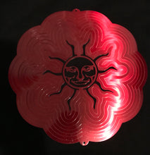Smiling Face Sun Wind Spinner