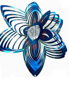 Flower Shaped Crystal WindSpinner