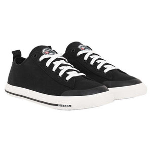 Diesel Astico Low Cut Canvas Black
