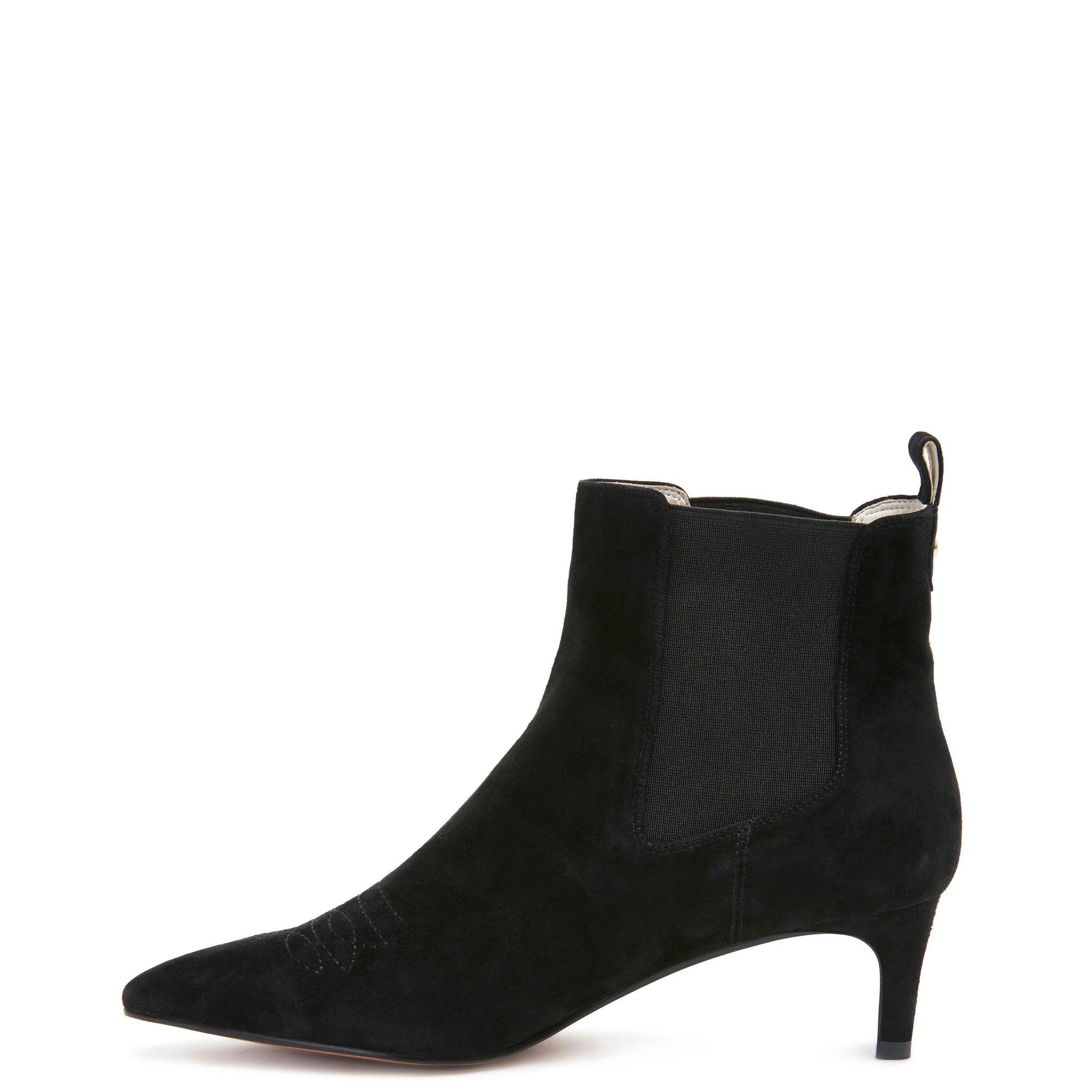 Miss Wilson Aquaria Boot Black Suede