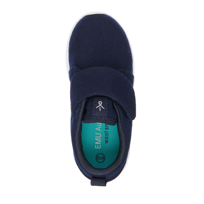 Emu Moreton Kids Merino Sneakers Midnight (Navy)