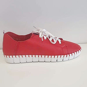 Top End Kingsly Red White Sole Leather
