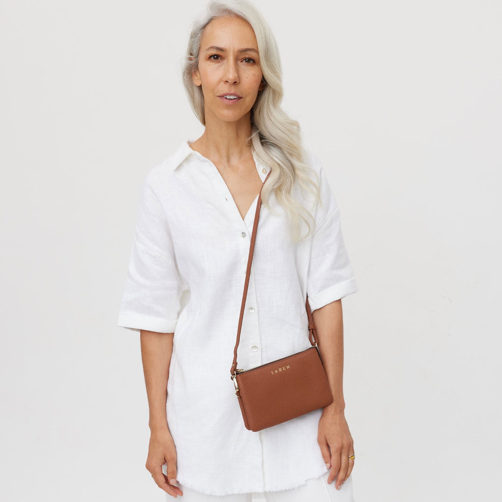 Saben Tilly Crossbody Tan