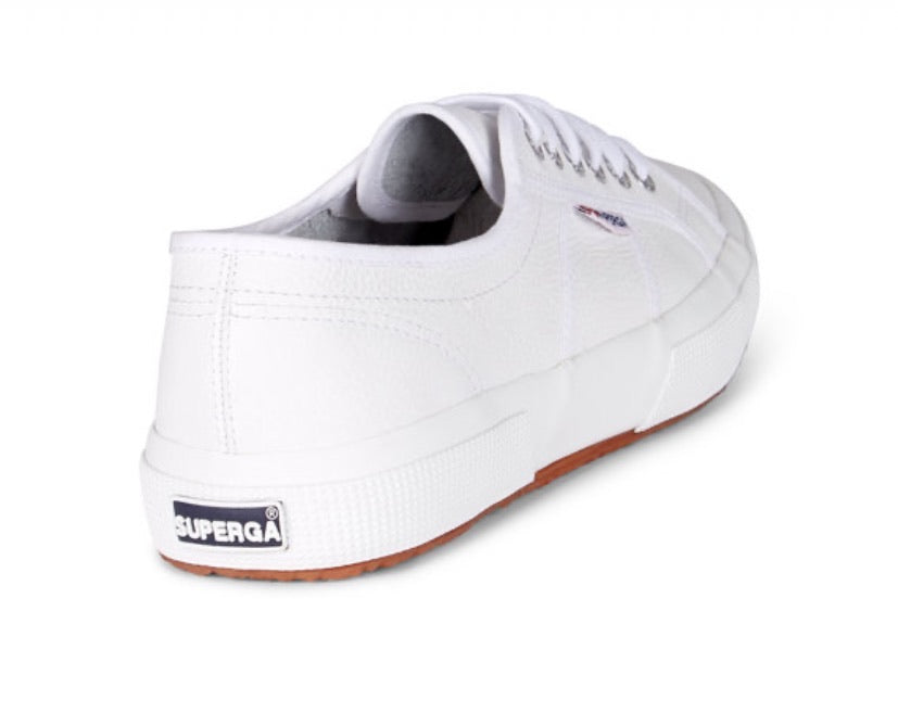 Superga 2750 EFGLU Leather sneaker White