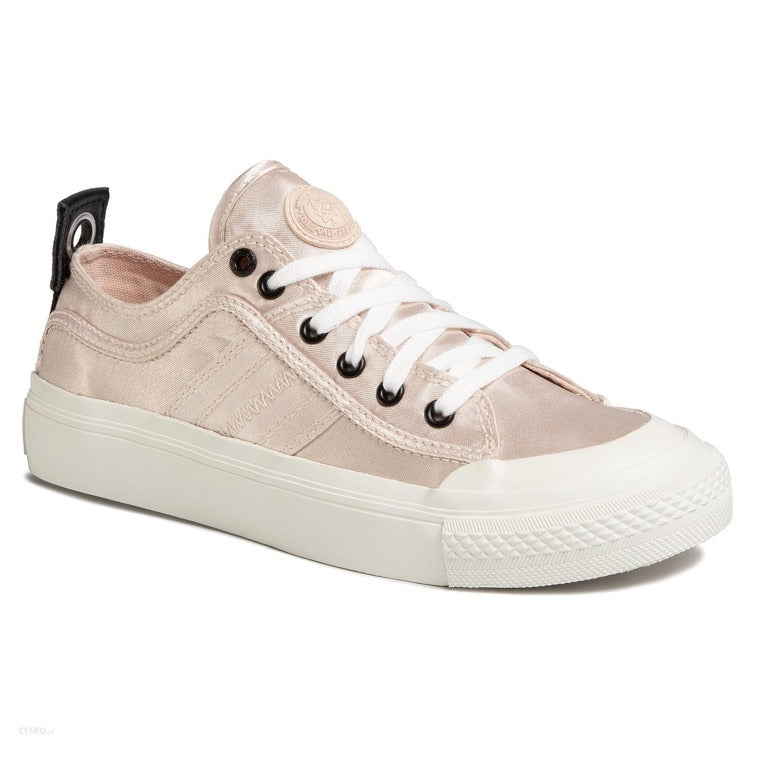 Diesel Astico Low Satin Sand/Blush Sneaker