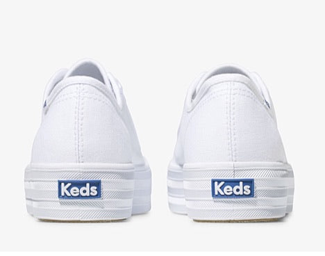 Keds Triple Kick Canvas White