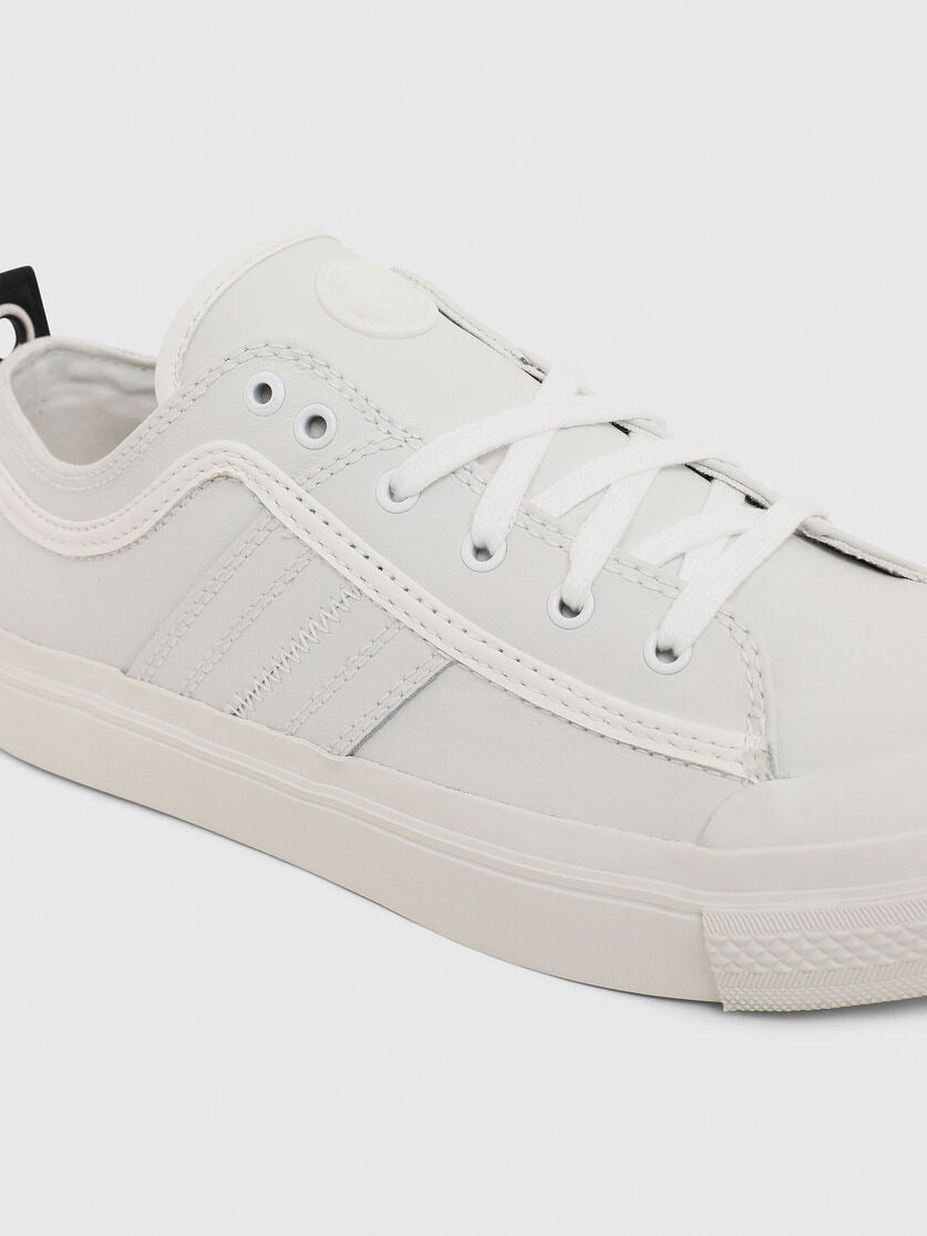 Diesel Astico Low Leather White
