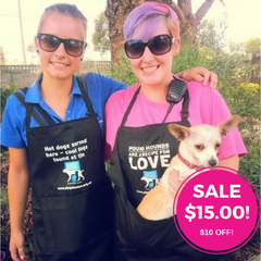 Apron - Cool Dogs - ON SALE for AUSTRALIA DAY $15