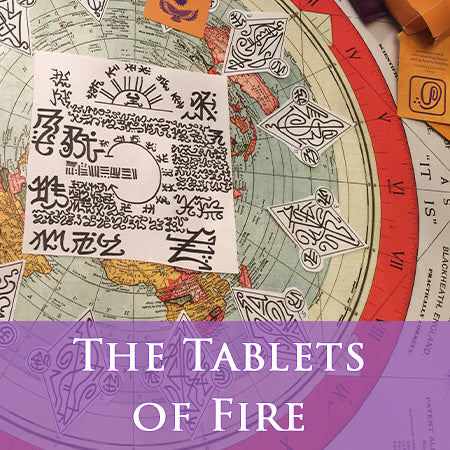 The Tablets of Fire video course (The 8 Global Meridians and their Portals)
