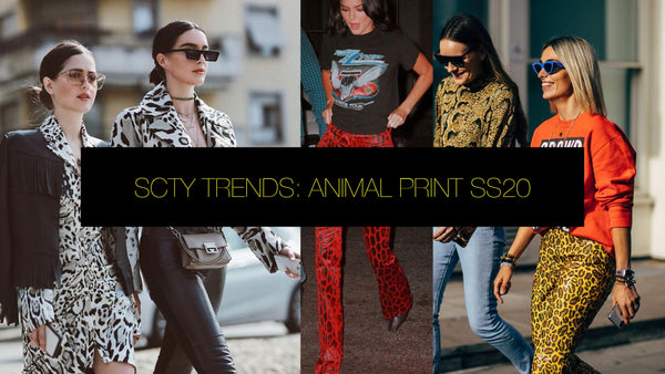 SCTY TRENDS: ANIMAL PRINT 2020