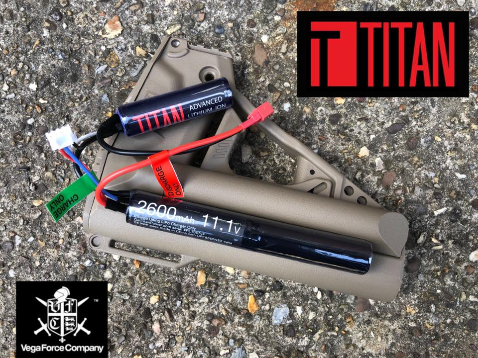 VFC UK recommends Titan Batteries for Airsoft!