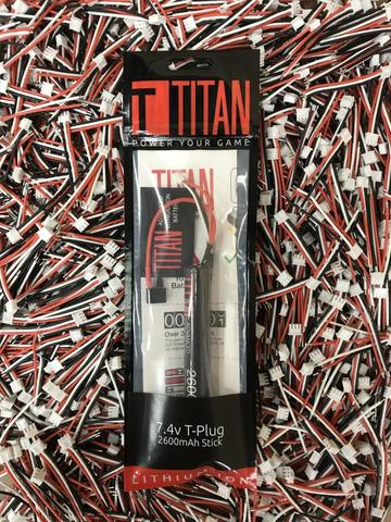 Titan new packaging and wiring
