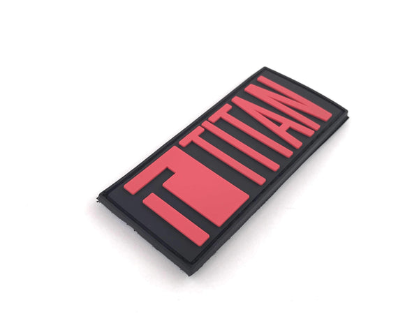 Titan PVC Velcro Patch