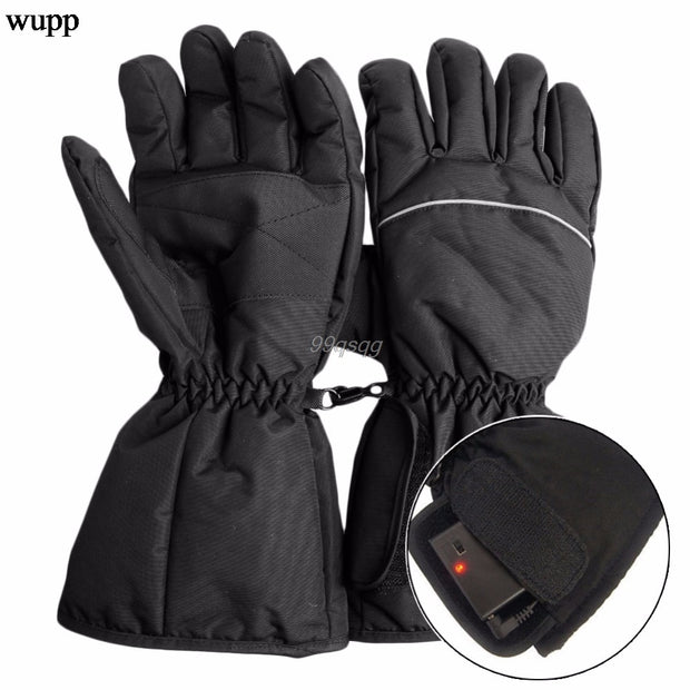 HEATED GLOVES - WATERPROOF BATTERY POWERED GLOVES