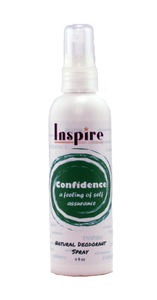 Confidence Natural Deodorant Spray
