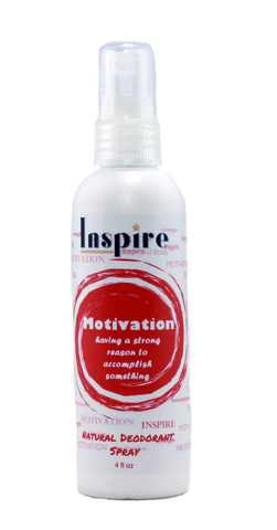 Motivation Natural Deodorant Spray