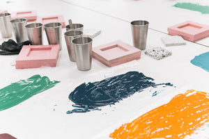Gift Card | Terrazzo Coaster Casting Workshop + Centrepiece Casting Workshop | Nottingham