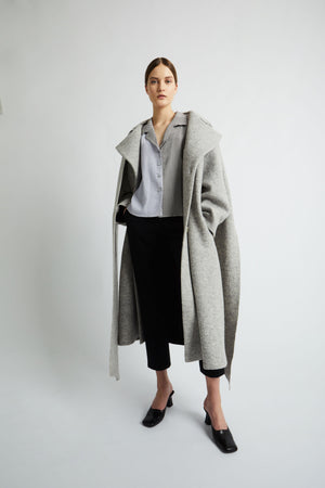 Albi coat light grey