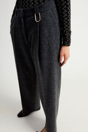 Anor trousers blue wool