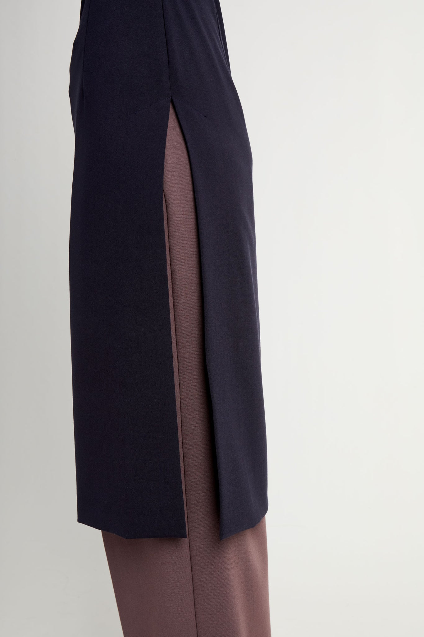 Clo dress dark blue
