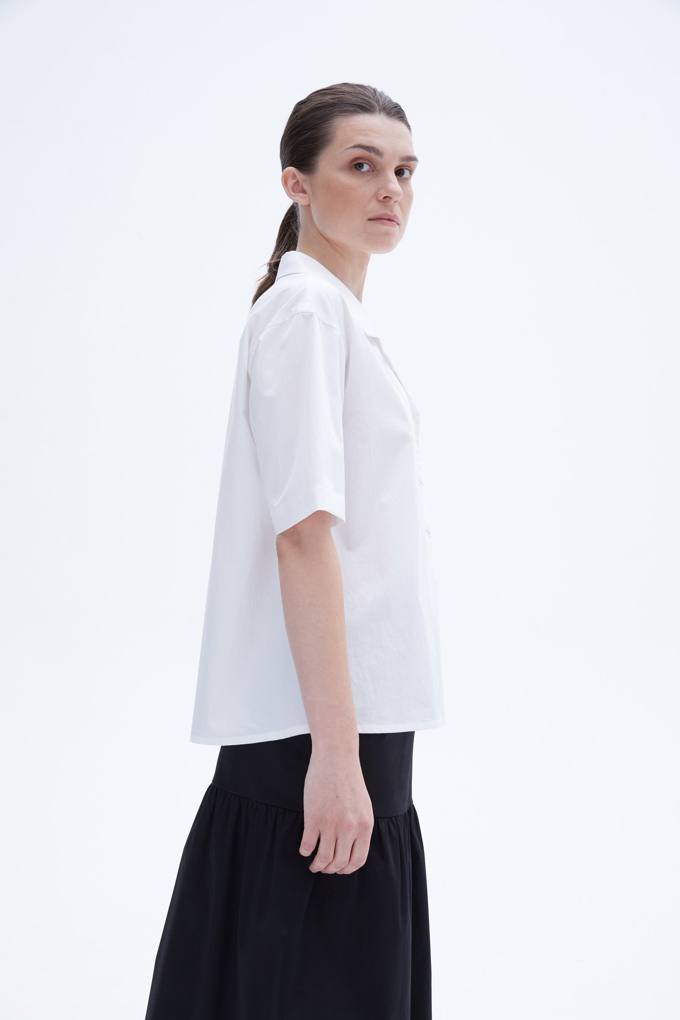 Drew blouse white