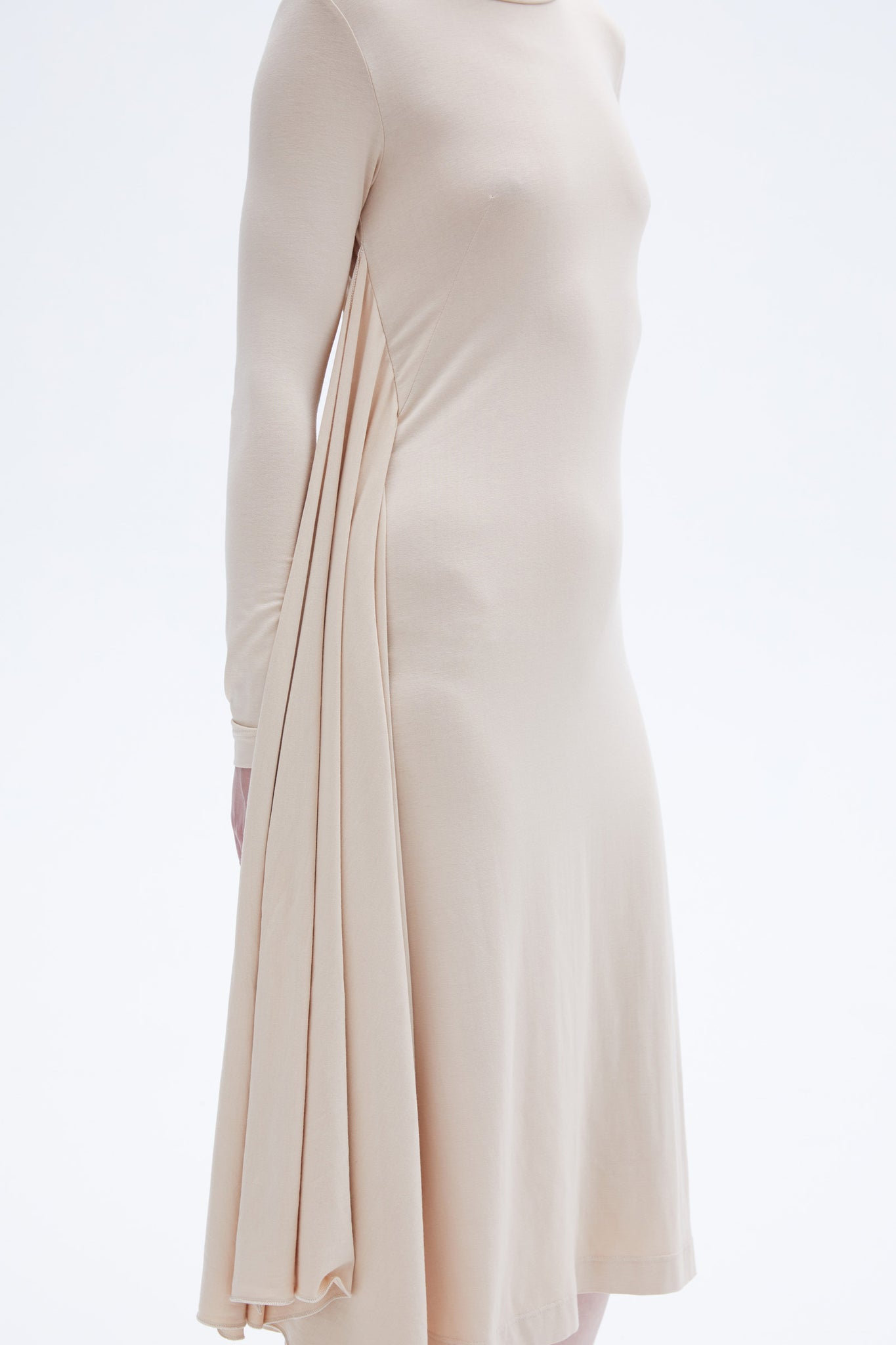 Chruse dress nude