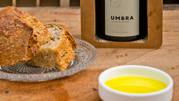 Tasting of Umbra with sourdough bread