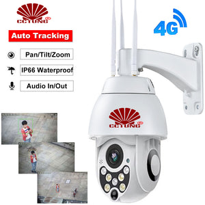 4G Mini Speed Dome Camera