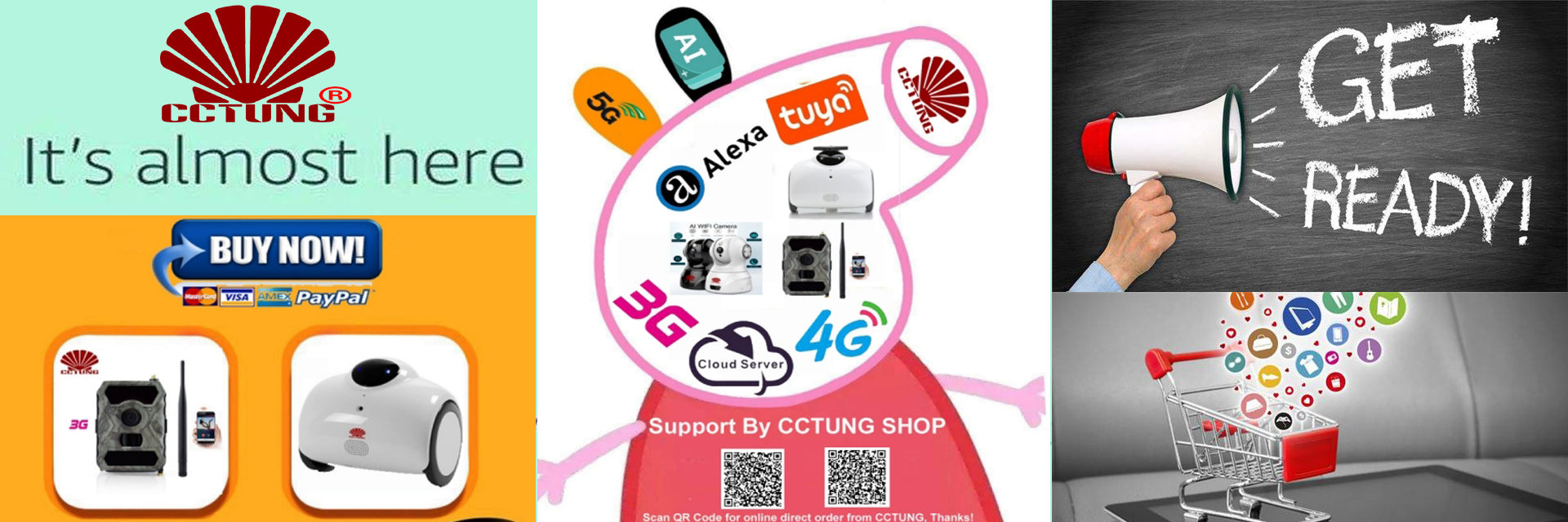 CCTUNG & Aliexpress Brands Shopping Week Event – MCCTV SECURITY
