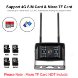4G Mobile Mini Camera with 1080P & 5MP HD IP WiFi Camera Waterproof IP66 Free APP Monitoring
