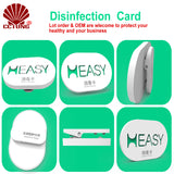 Chlorine Dioxide Sterilization Working Card for Air Disinfection Slow-Release Package Last 45days