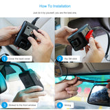 4G Smart Car GPS Tracking Dashcam with WIFI Hotspot Dual 1080P Video Cloud Recording Live SOS Alarm
