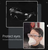 Personal Safety Protective Glasses Goggle to Provide WrapAround Eye Protection for Anti CoronoVirus