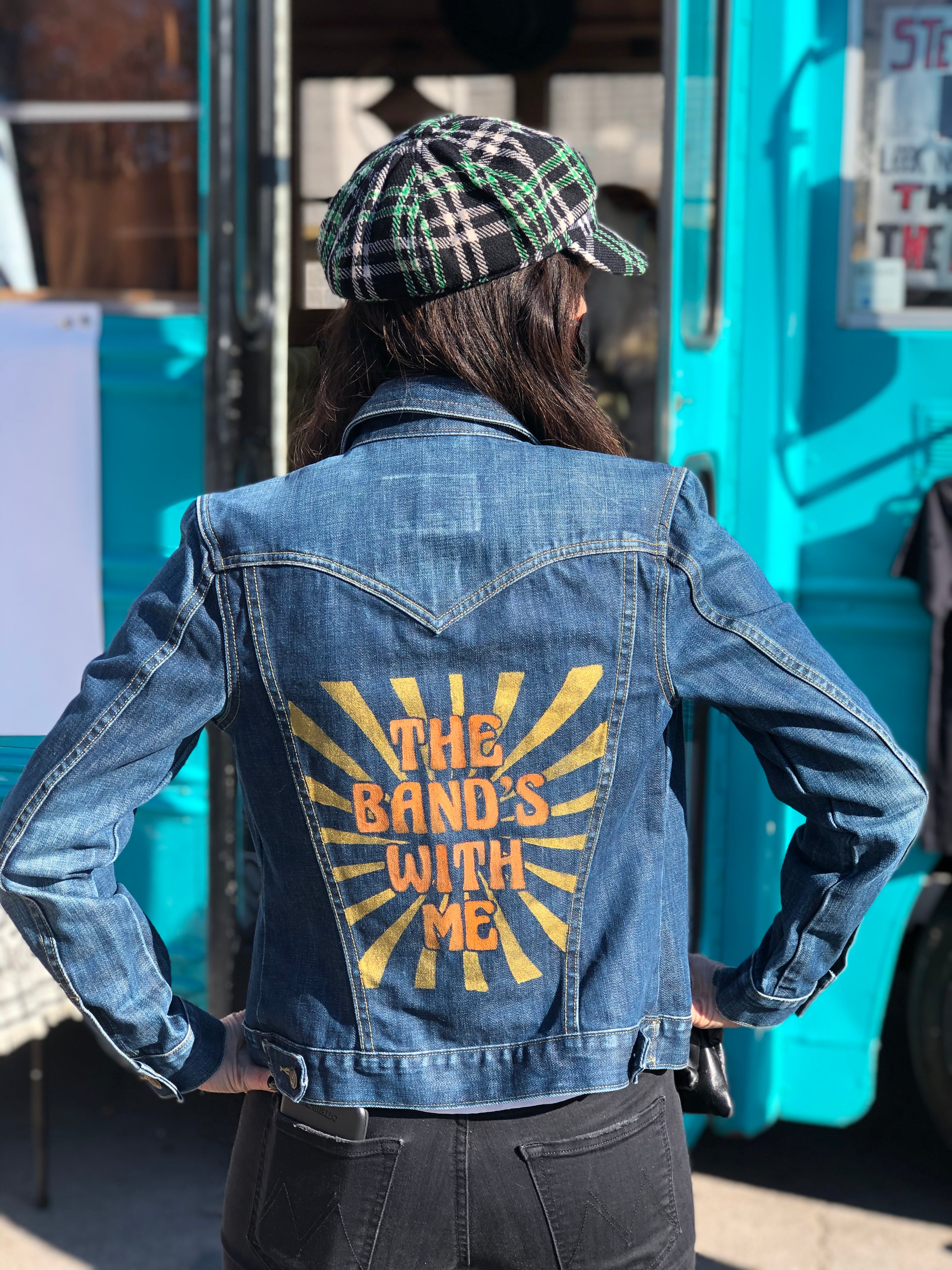 The Band's With Me Denim Jacket - Wild Ones