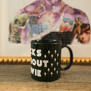 Sucks Without Bowie Black Mug - Wild Ones