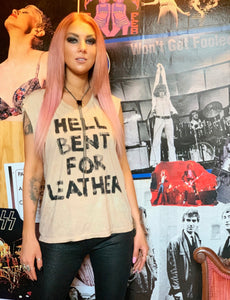 Hell Bent For Leather Custom T Shirt - Wild Ones
