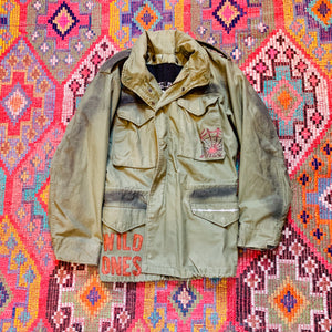 """Black Magic"" Vintage Field Jacket - Wild Ones"