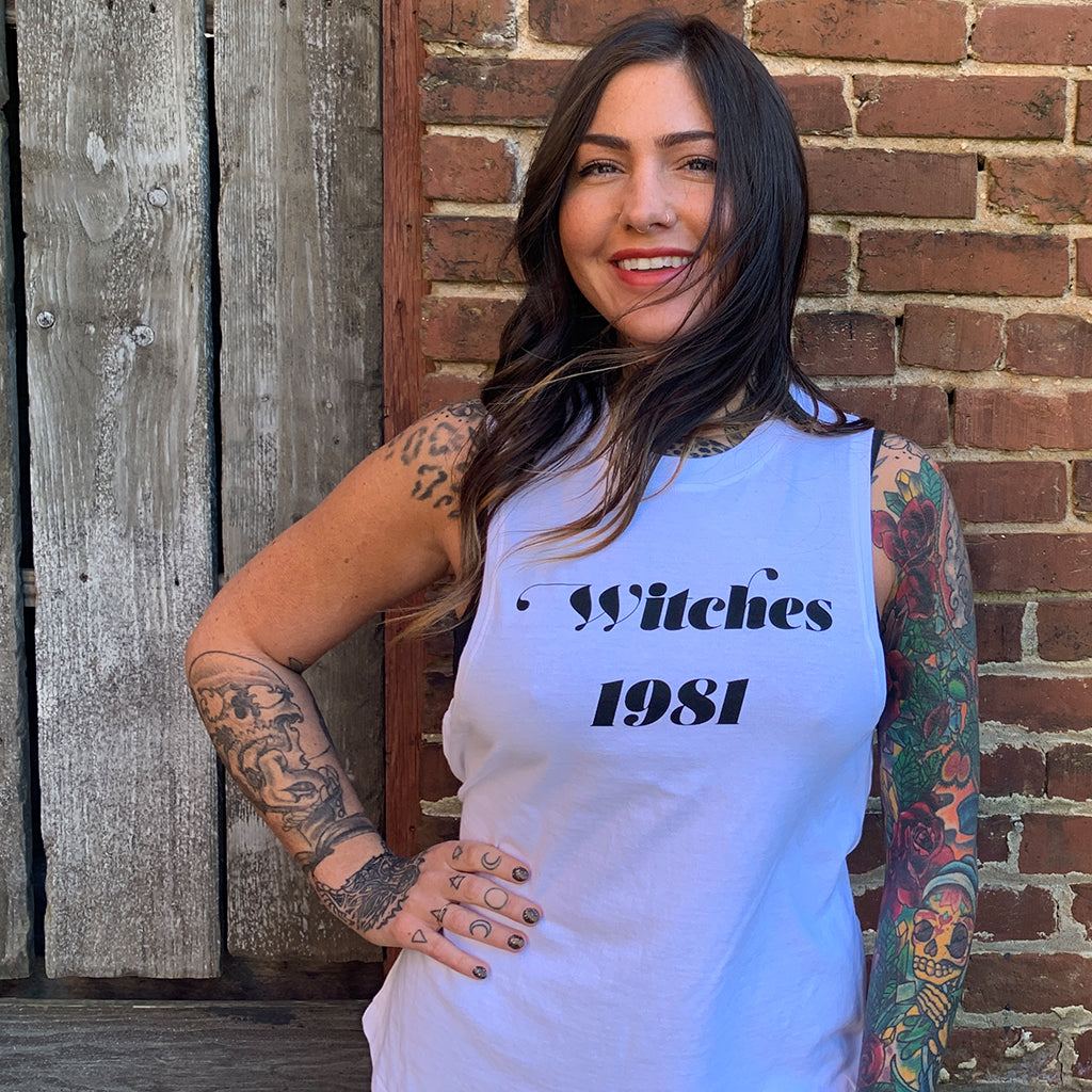 Limited Edition Witches 1981 Women's Muscle Tank - Wild Ones