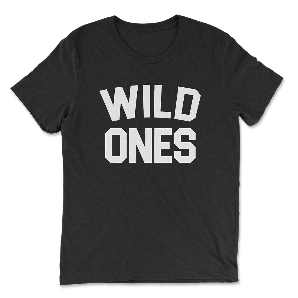 Wild Ones Signature T-Shirt in Black - Wild Ones
