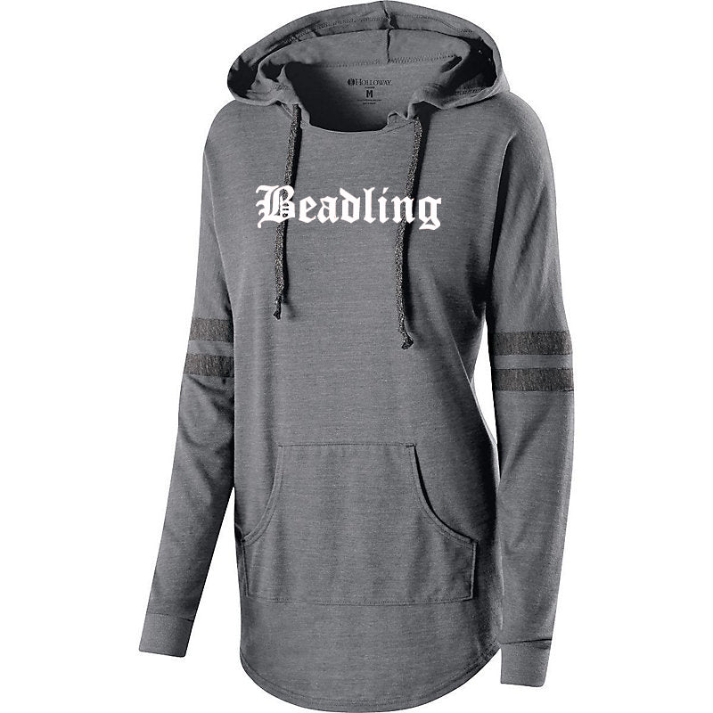 Women's light-weight Hooded Pullover featuring the