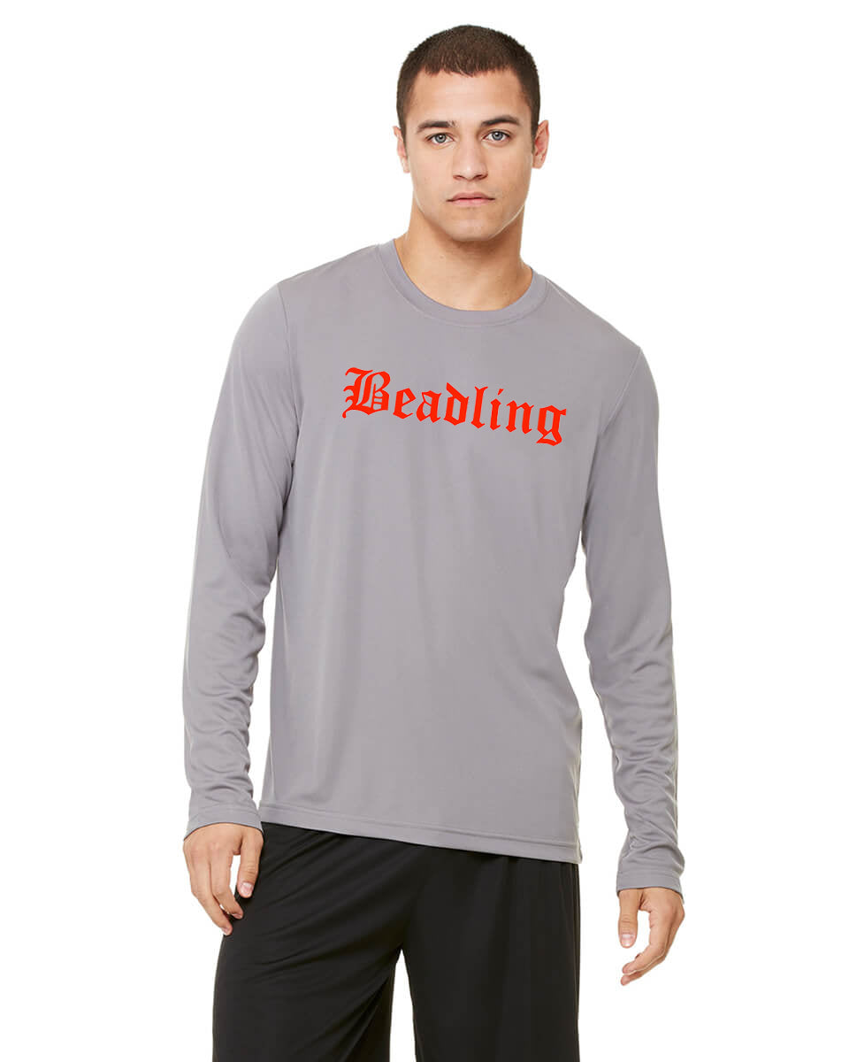 Men's Performance Long Sleeve T-Shirt featuring the